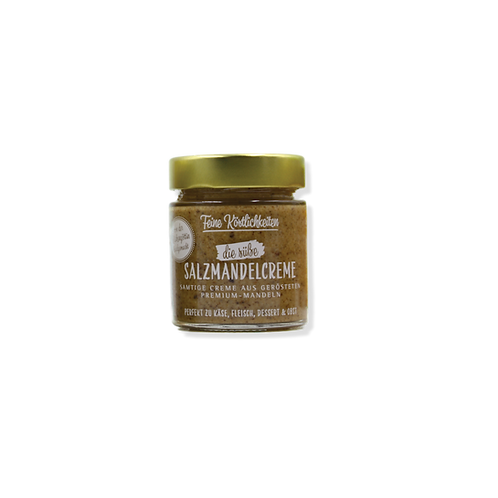Die süße Salzmandelcreme