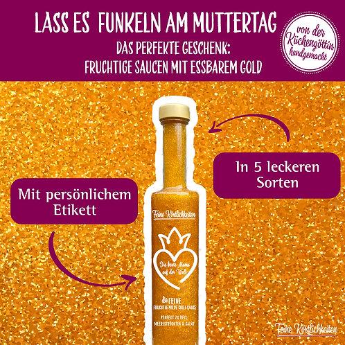 Muttertags-Special: Sauce mit essbarem Gold