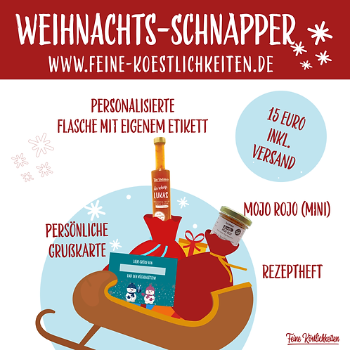 Weihnachts-Schnapper (Versandkostenfrei)