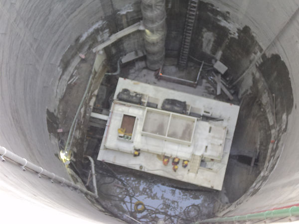 Detalle de Carro 1 en el interior de la