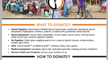 AIE's 3rd Annual Donation Drive