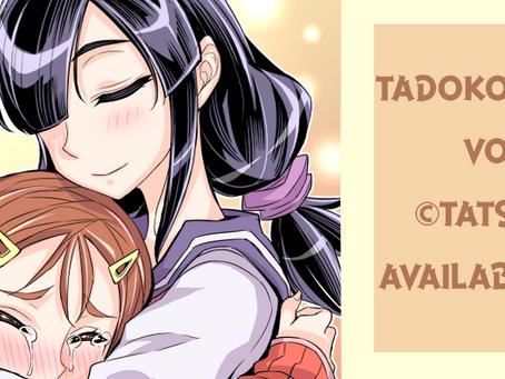 Original cover art! English version of Tadokoro san continues for a little bit longer. m(__)m