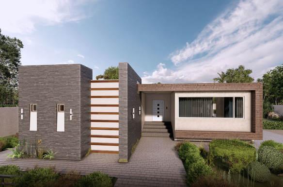 Diseño Arquitectónico - Residencia Unifamiliar Valle