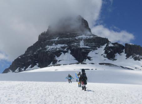 RIDING LOGAN PASS - JUNE SNOWBOARDING
