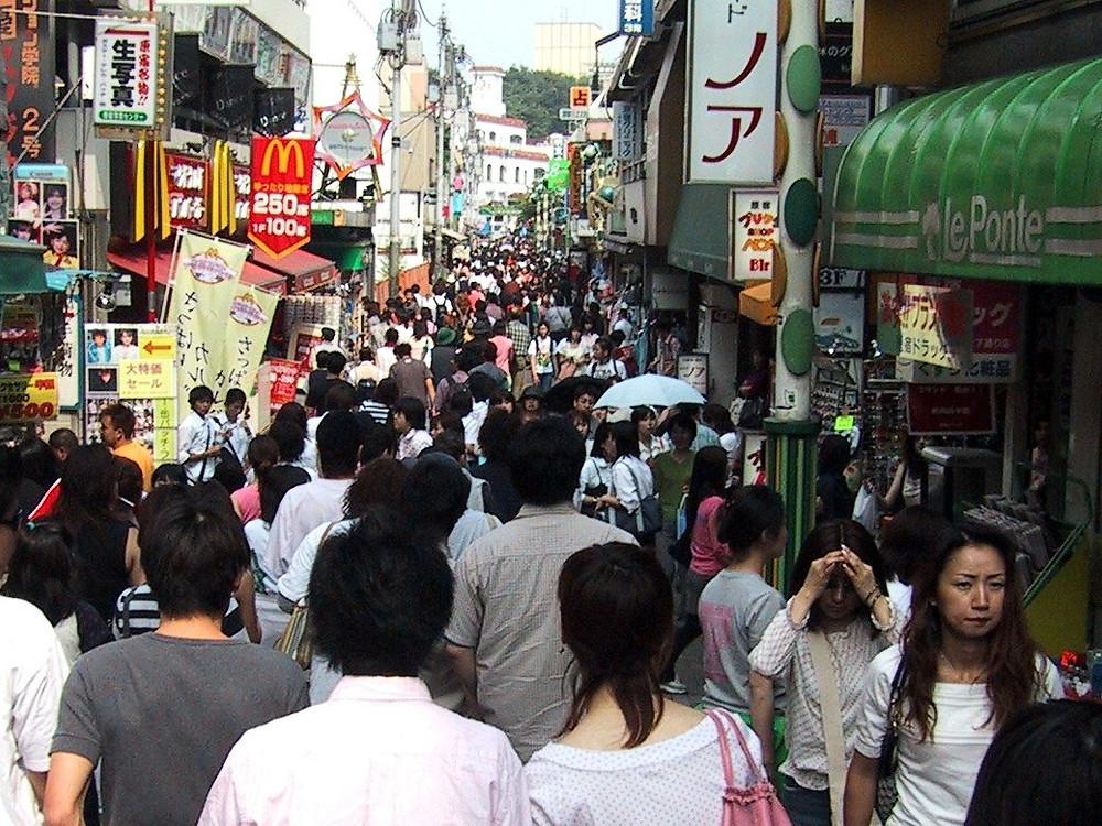 Takeshita Street, Tokyo, Japan