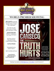 why ranch, movie night, jose conseco story, the truth hurts