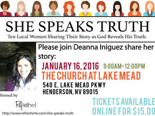 SHE SPEAKS TRUTH Event