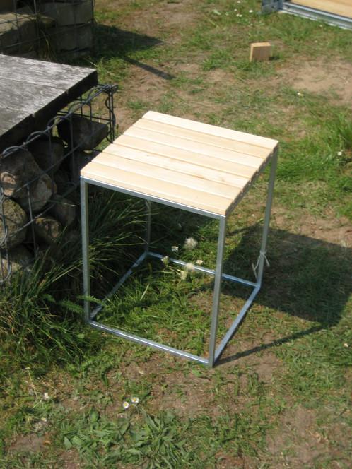 hocker bau werkstatt lage outdoork che hofk che aussenk che betonwaschbecken. Black Bedroom Furniture Sets. Home Design Ideas