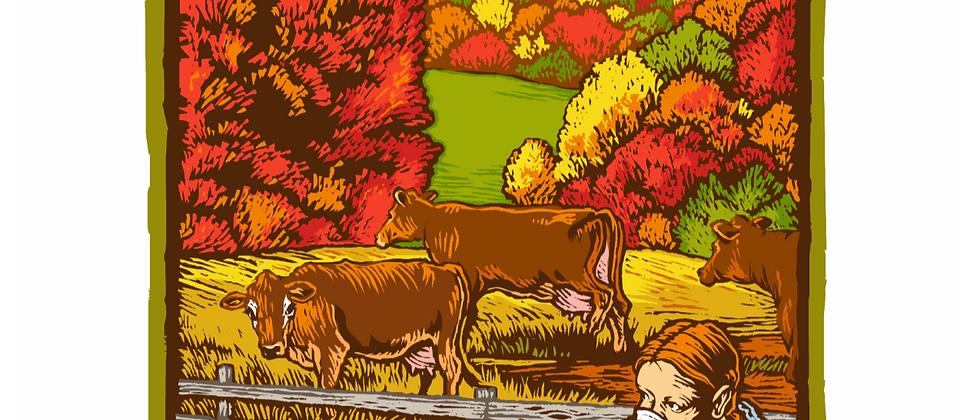 Fall 2014 Seasonal Art Poster