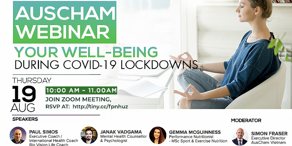 Your Well-being During COVID-19 Lockdowns
