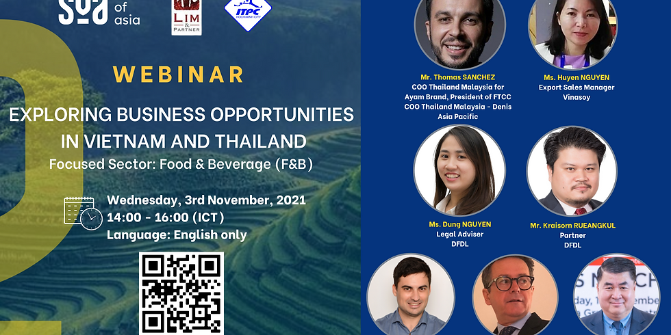 Exploring Business Opportunities in Vietnam and Thailand focusing on the sector of Food and Beverage (F&B)