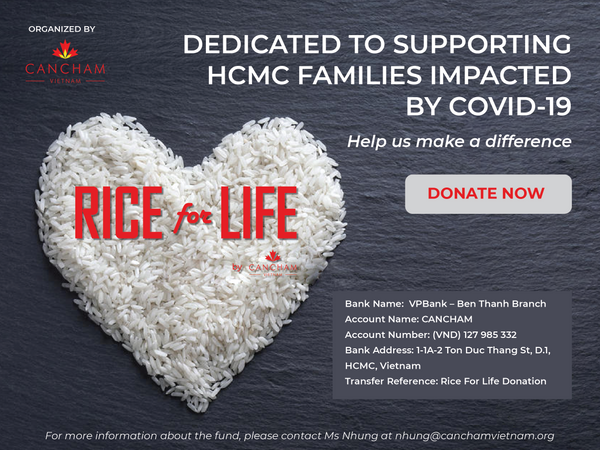Support HCMC Families impacted by COVID-19 - Rice for Life Program