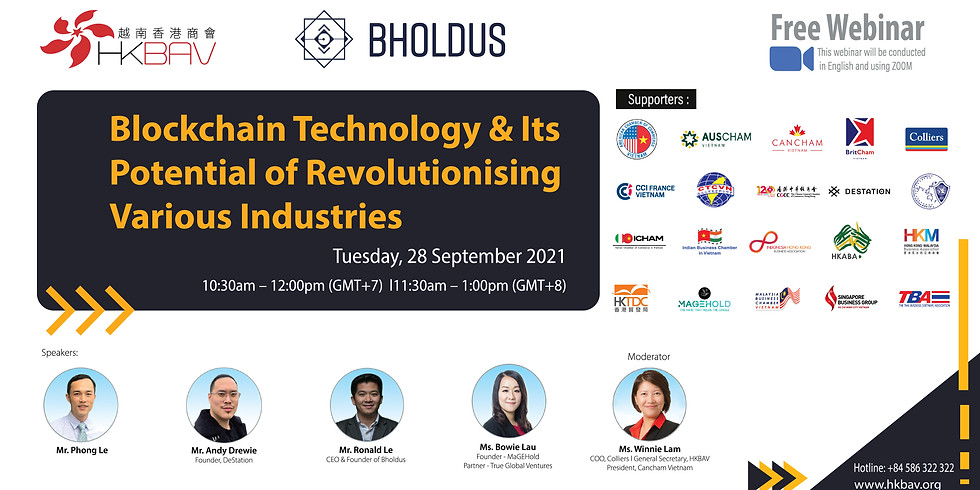 Blockchain Technology and its potential of revolutionising various industries