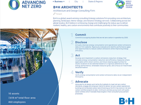 B+H Signs the World Green Building Council Net Zero Carbon Buildings Commitment