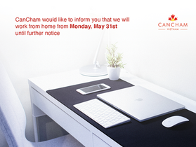 CanCham work from home until further notice