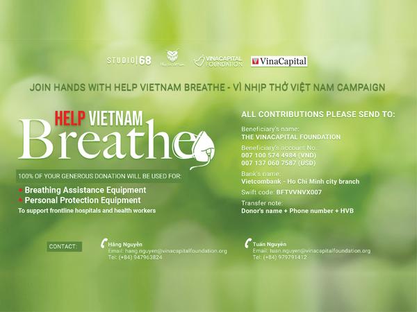 Help Vietnam Breathe - VinaCapital Foundation (VCF)