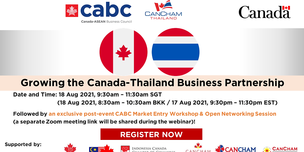 Growing the Canada-Thailand Business Partnership