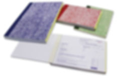 invoice books available in variety of sizes