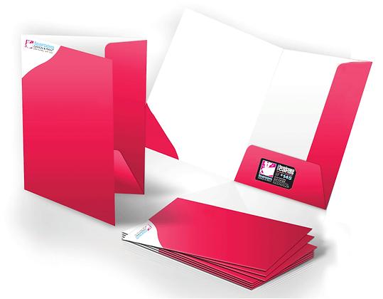 A4 Standard Presentation Folders