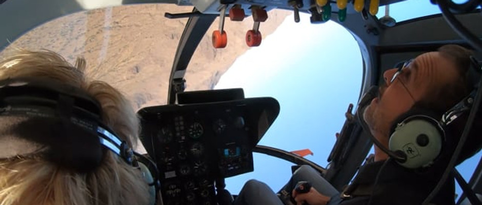 Upside Down In A Helicopter With Super Pilot Scott Urschel