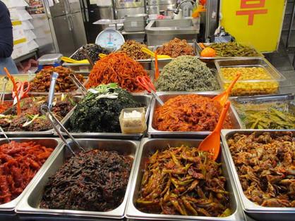 pickled food heaven at Gwangjang Market