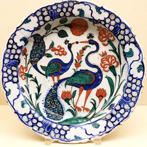 Ceramic plate from Turkey
