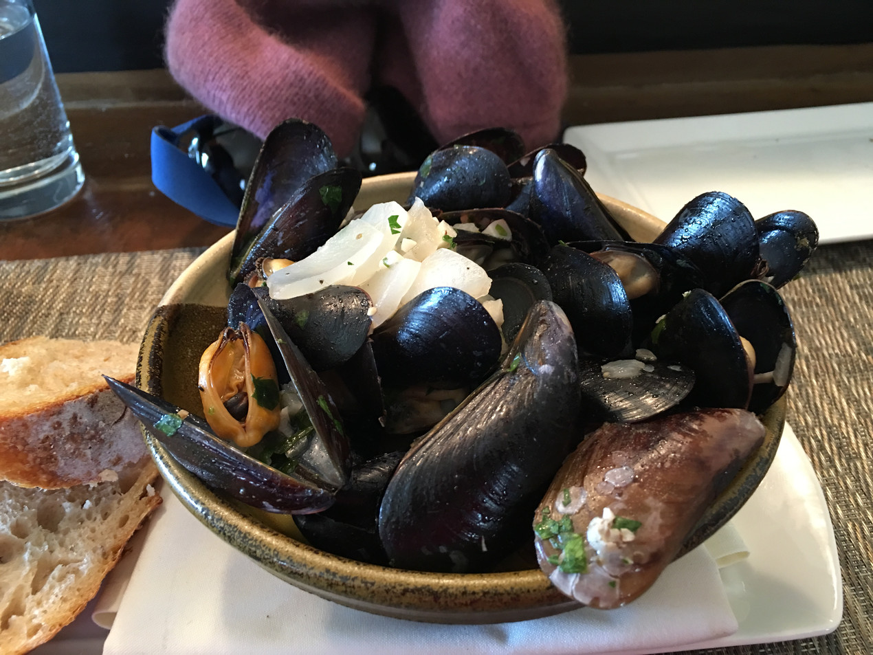 Penn Cove Mussels at the Oystercatcher in Coupeville