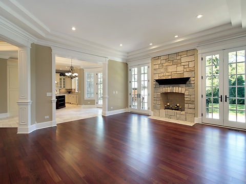 bigstock-Living-Room-With-Stone-Firepla-