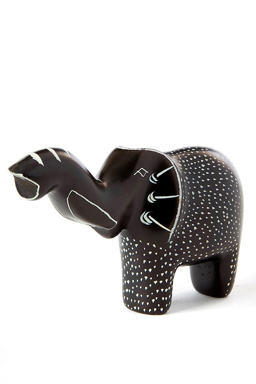 DST Red Polka Dot Elephant Small