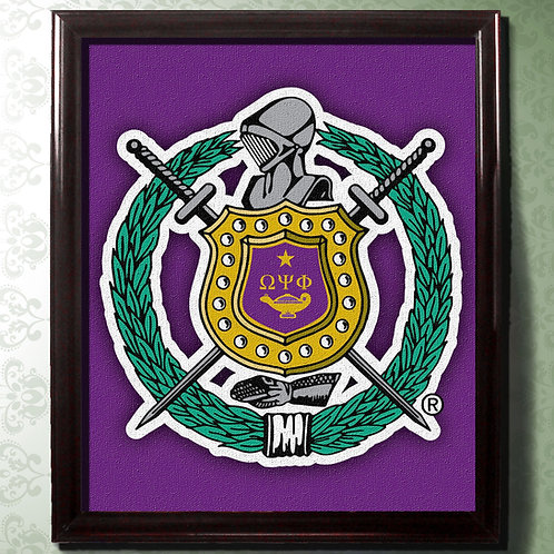 OMEGA PSI PHI CANVAS LARGE