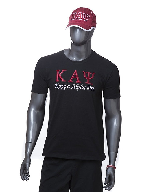 Kappa Alpha Psi 3-D Embroidered Tee