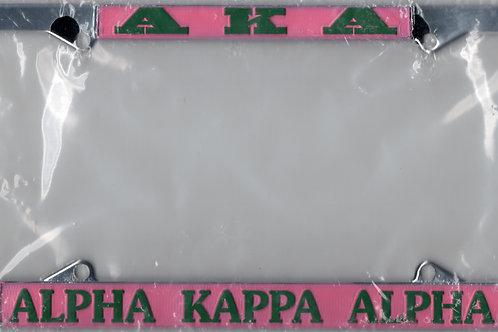 Alpha Kappa Alpha Tag Frame