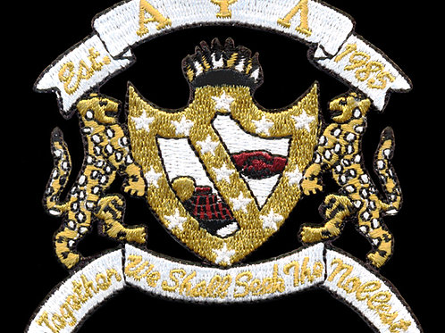 Alpha Psi Lambda Embroidered Crest Emblem 10""
