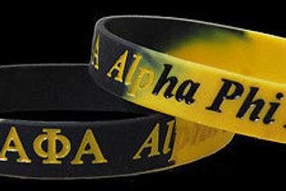 Alpha Phi Alpha Silicone Bracelet