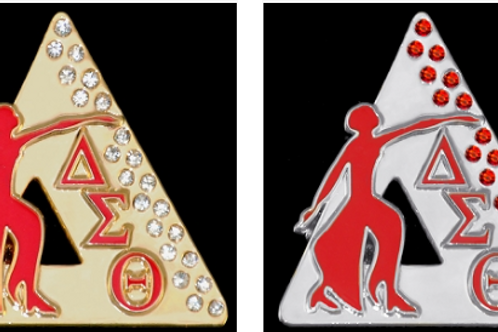 Delta Sigma Theta  Founding Jewels Lapel Pin