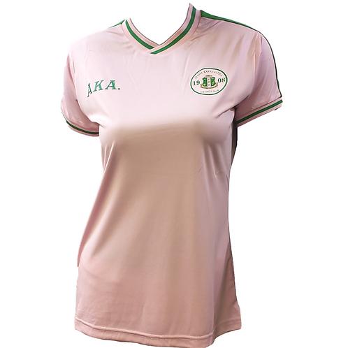 Alpha Kappa Alpha Pink Soccer Jersey