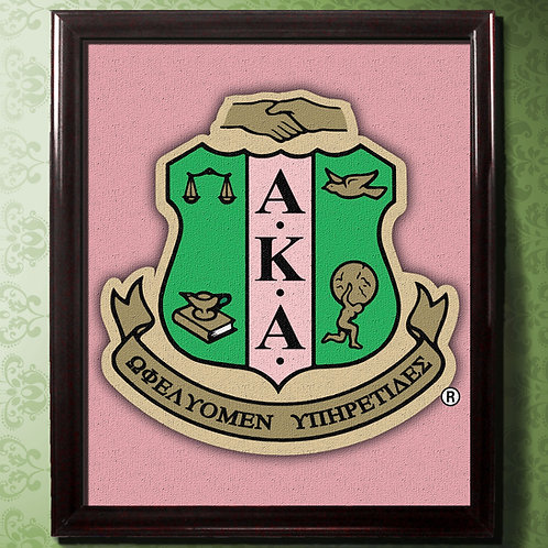 ALPHA KAPPA ALPHA CANVAS LARGE