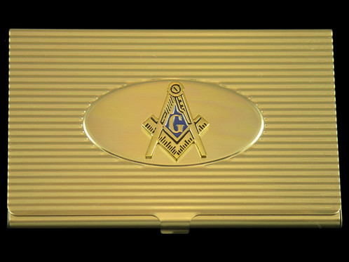 Masonic business card holder the greek store midtown lineup masonic business card holder colourmoves