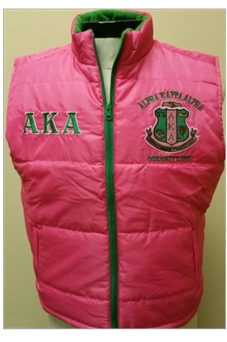 Alpha Kappa Alpha  Vest