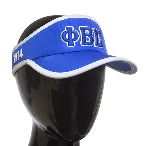 PHI BETA SIGMA Feather- light Visor