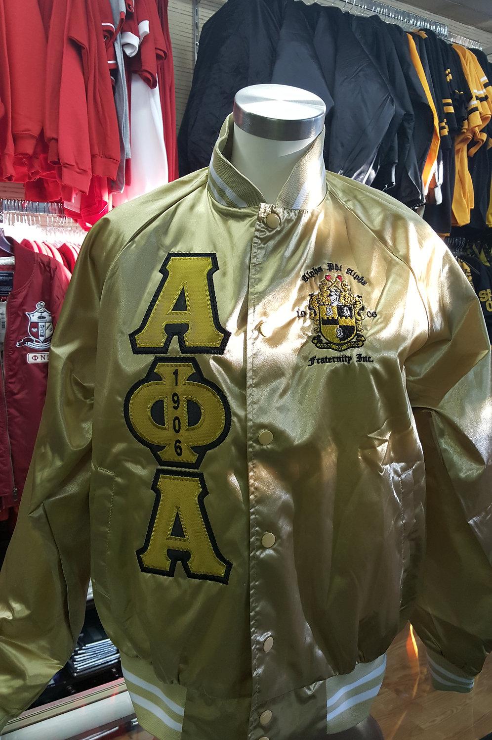Alpha Phi Alpha Bomber Jacket