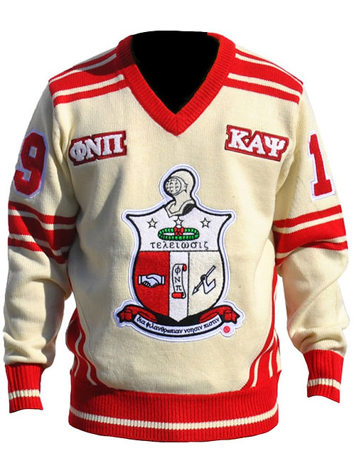 Kappa Alpha Psi V-neck Sweater