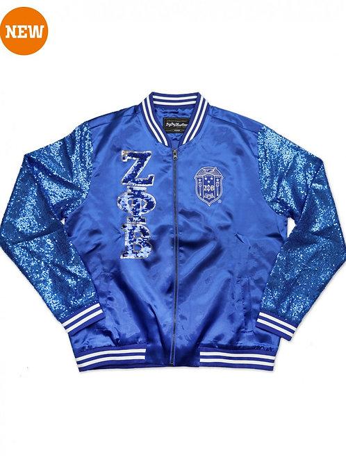 Zeta Phi Beta Sequin Jacket