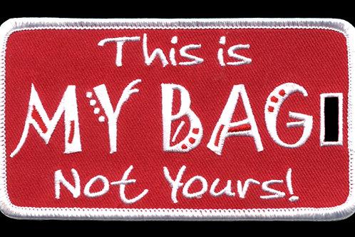 Delta Sigma Theta Embroidered Luggage Tag