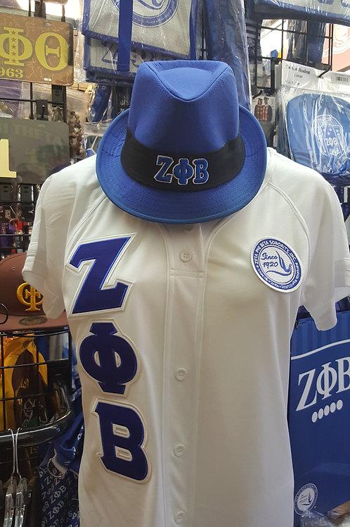 Zeta Phi Beta White Winner Jersey