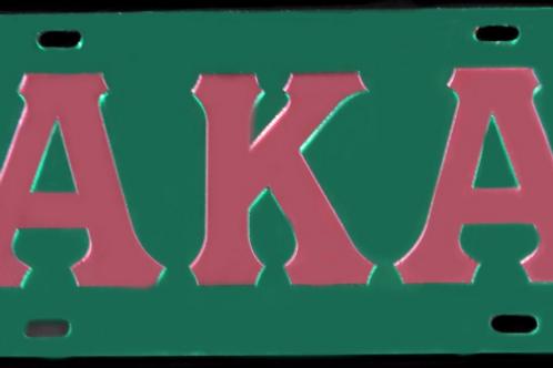 ALPHA KAPPA ALPHA MIRROR PLATE #2001