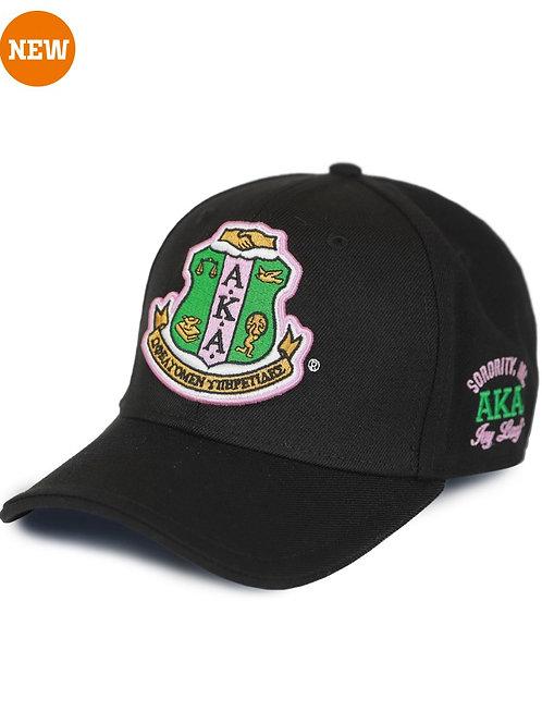 Alpha Kappa Alpha Cap Black