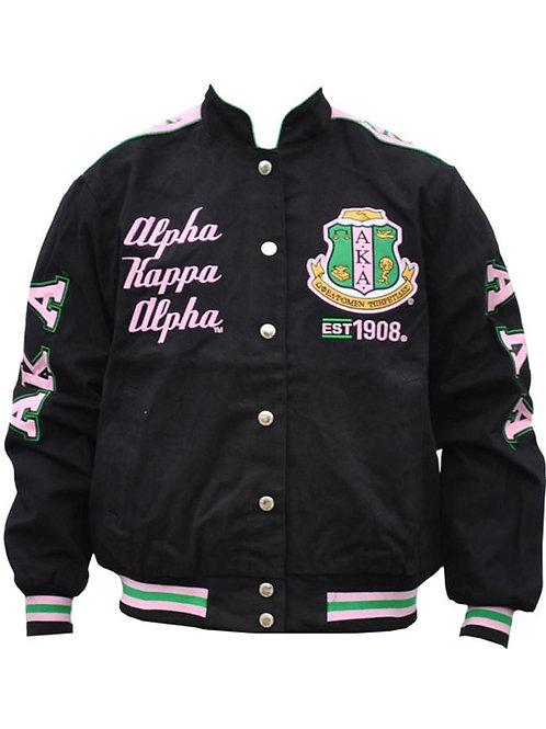 Alpha Kappa Alpha Twill Jacket