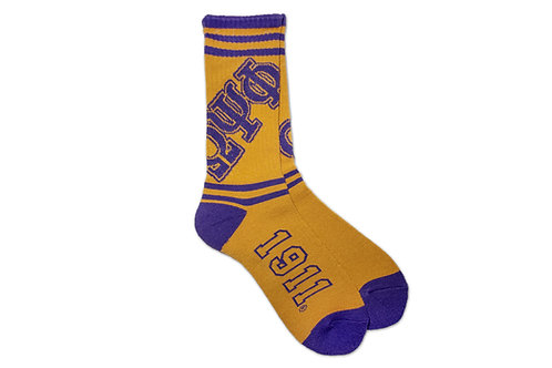 OMEGA PSI PHI  SPORTS SOCKS