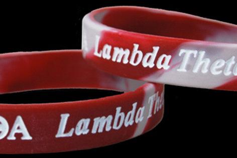 Lambda Theta Alpha 100% Silicone Bracelet